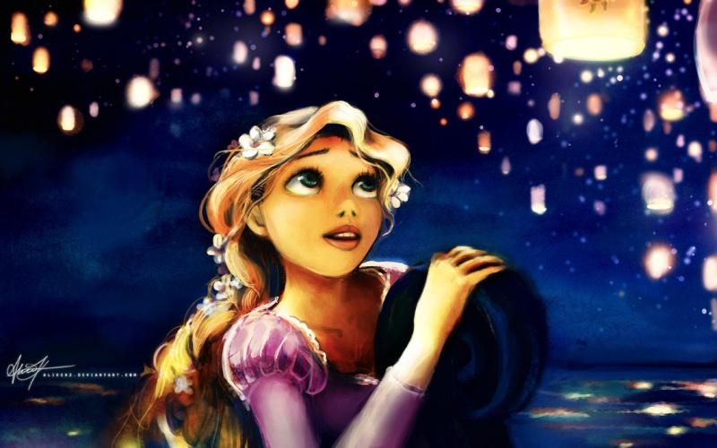 Cr ation dessins la tour de raiponce les fan arts de - Princesse meline ...