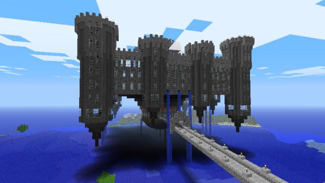 Comment construire un chateau dans minecraft la r ponse - Chateau de minecraft ...